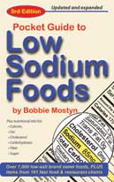 Pocket Guide to Low Sodium Foods cover