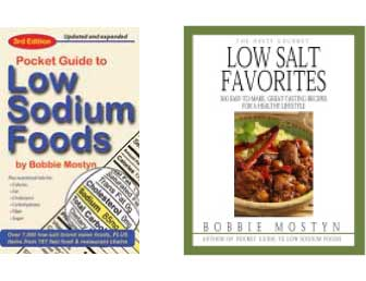 Pocket Guide to Low Sodium Foods and Hasty Gourmet Low Salt Favorites cookbook